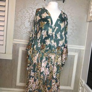 Romantic Gypsy 2X NWT Boho Chic  dress floral